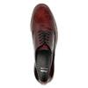 Ladies' Derby shoes bata, red , 528-5600 - 19