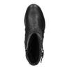 Ladies' leather winter boots bata, black , 594-6347 - 19