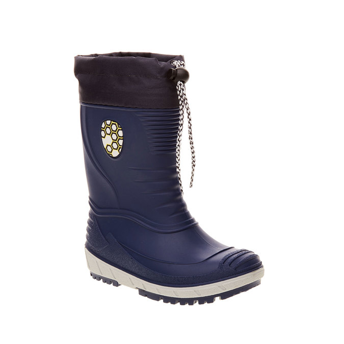 Children´s rubber boots mini-b, blue , 392-9101 - 13
