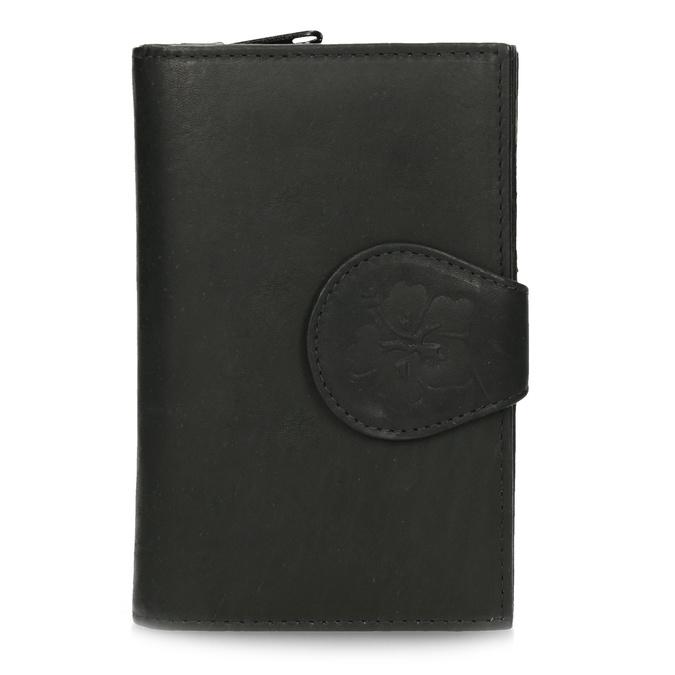 Ladies' leather purse, black , 944-6155 - 26