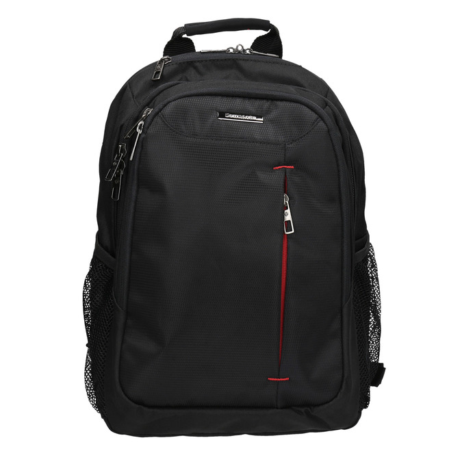 Quality laptop backpack, black , 969-2395 - 26