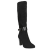 Ladies' heeled high boots bata, black , 699-6631 - 13