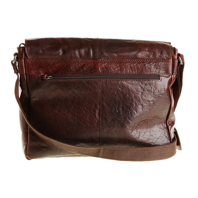 Leather bag bata, brown , 964-4178 - 26