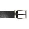 Gentlemen´s leather belt bata, black , 954-6129 - 26