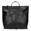 Ladies' handbag with metal handles, black , 961-6789 - 19
