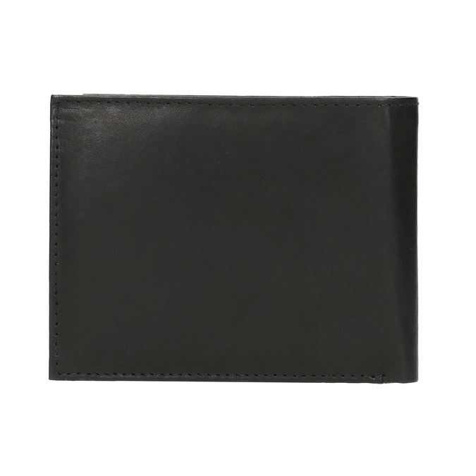 Men's leather wallet bata, black , 944-6171 - 19