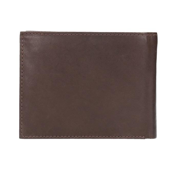 Men's leather wallet bata, brown , 944-4171 - 19