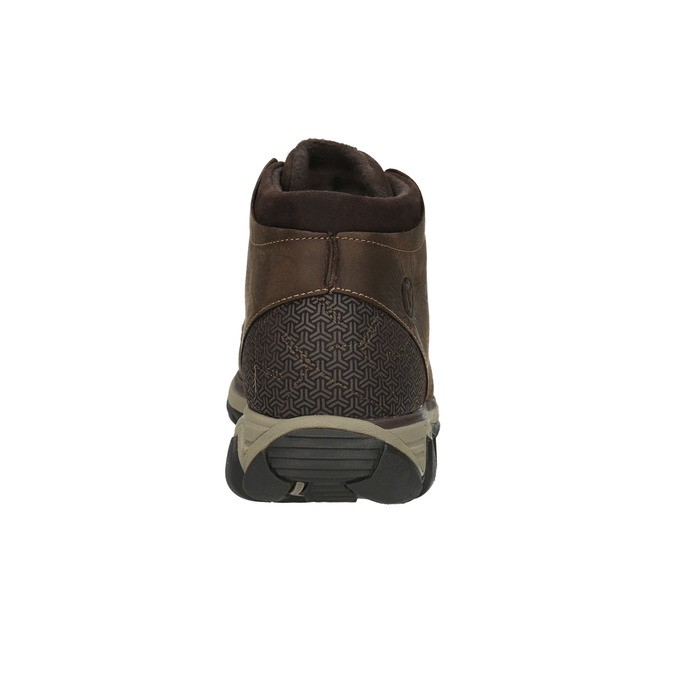 Men's leather ankle boots merrell, brown , 806-4842 - 17