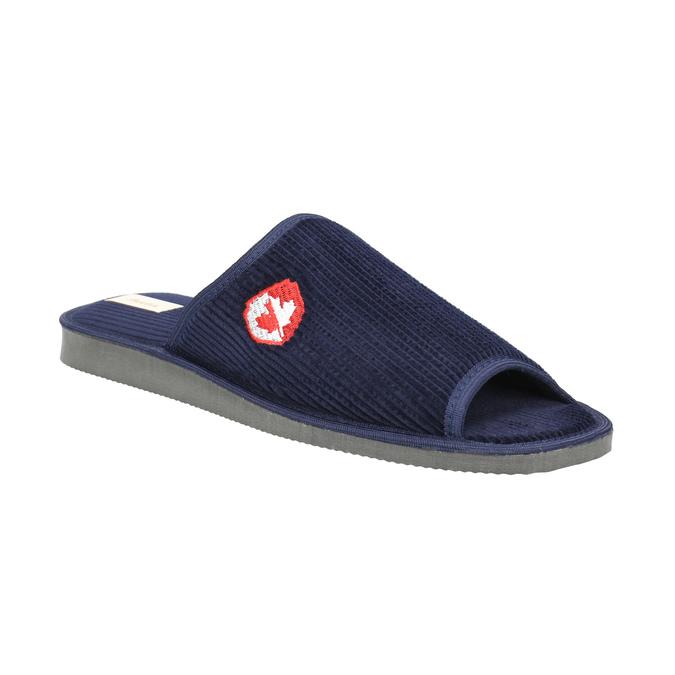 Men's slippers bata, blue , 879-9608 - 13