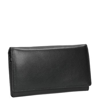 Ladies' leather purse, black , 944-6357 - 13