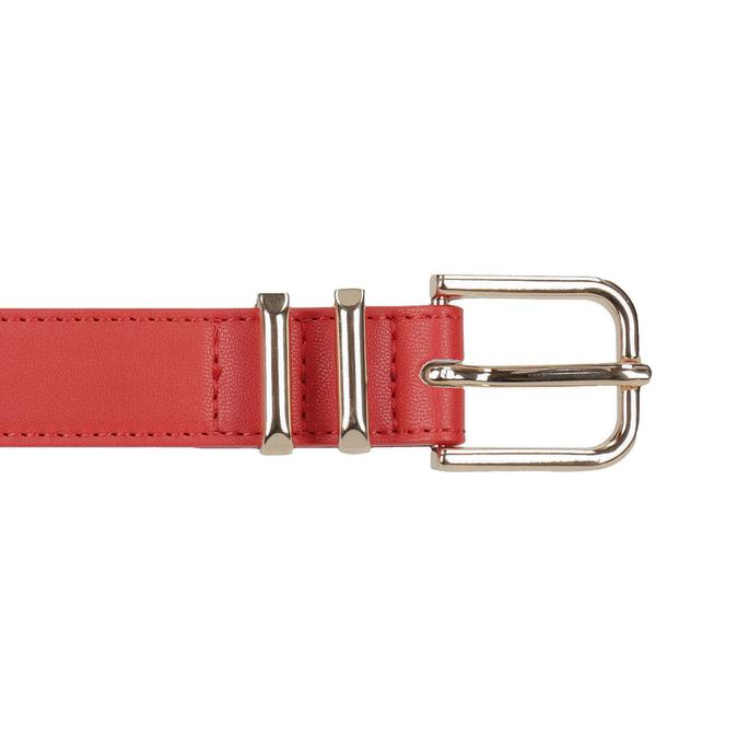 Ladies' red belt bata, red , 951-5601 - 26