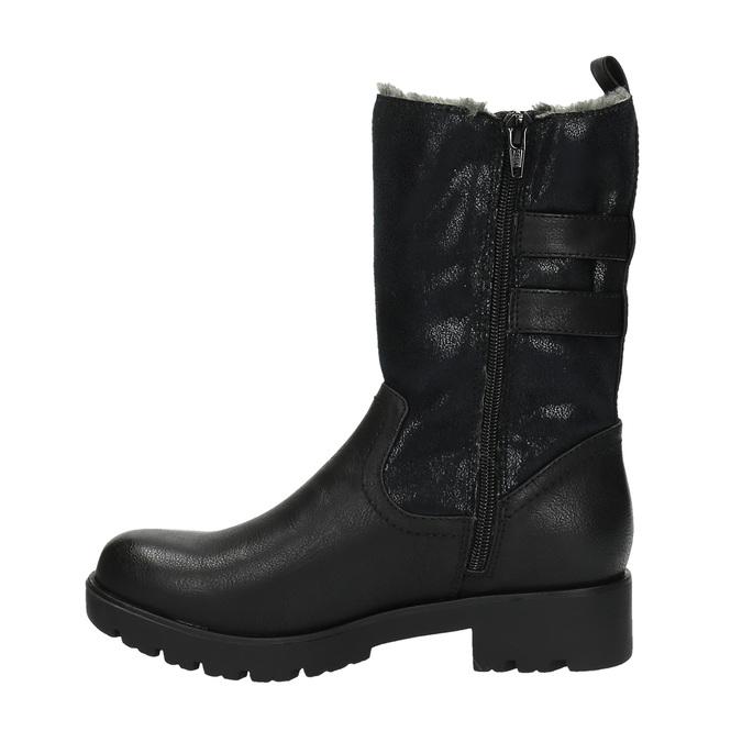 Trendy ladies´ Cossacks bata, black , 599-6610 - 26