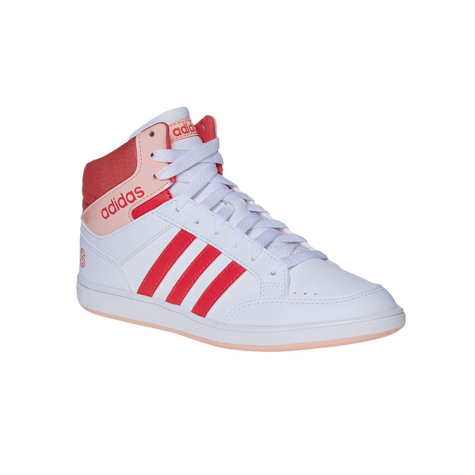 Girls' ankle sneakers adidas, white , 401-5253 - 13