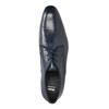 Men's blue leather shoes bata, blue , 826-9836 - 19