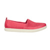 Leather shoes with perforations bata, pink , 516-5601 - 15