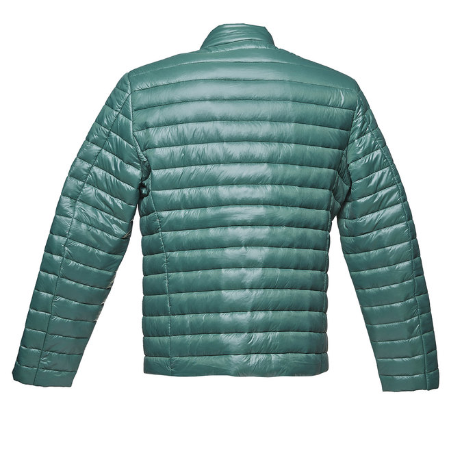 Men's quilted jacket bata, green, 979-7218 - 26