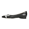 Ladies´ pointed ballerinas bata, black , 524-6602 - 26