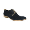 Shoes of brushed leather bata, blue , 823-9602 - 13