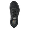 Men's sneakers with memory foam skechers, black , 809-6141 - 19