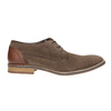 Men's brushed leather shoes bata, brown , 823-4606 - 15
