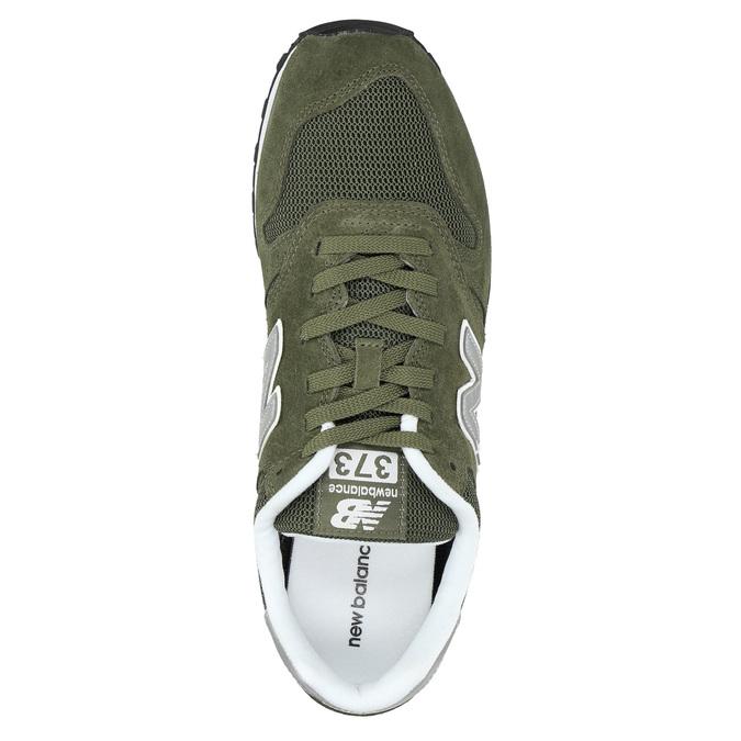 Men's leather sneakers new-balance, khaki, 803-7107 - 19