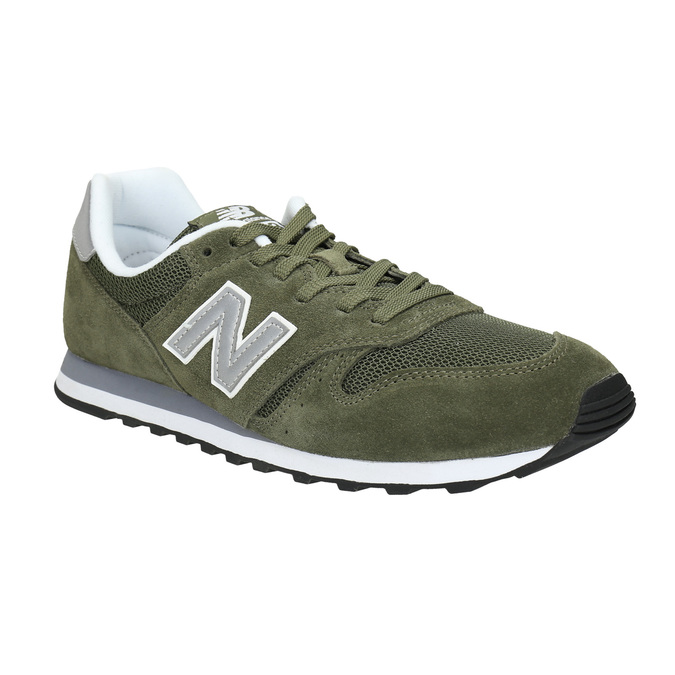 Men's leather sneakers new-balance, khaki, 803-7107 - 13