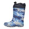 Children's patterned wellington boots mini-b, blue , 192-9110 - 19