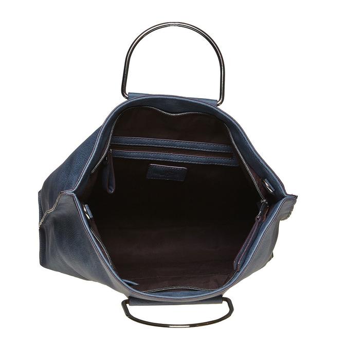 Ladies' blue handbag bata, blue , 961-9327 - 15
