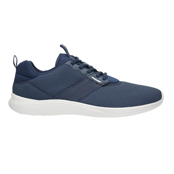 Men's blue sneakers power, blue , 809-9175 - 15