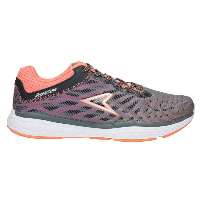 Ladies' sporty sneakers power, gray , 509-2155 - 15