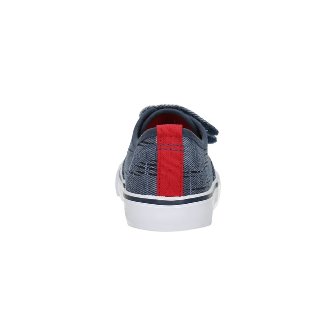 Children's sneakers with Velcro north-star-junior, blue , 219-9611 - 17