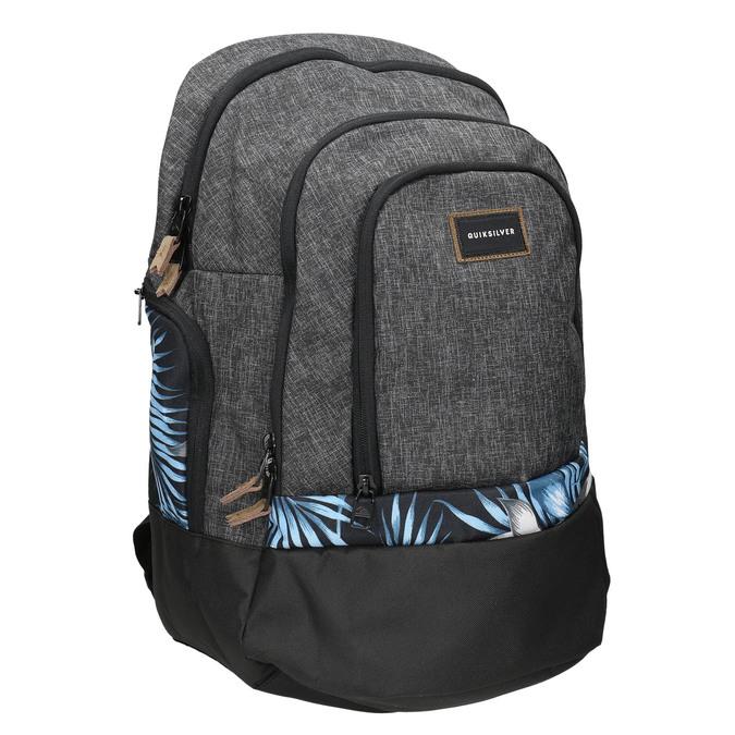 Grey backpack quiksilver, gray , 969-2035 - 13