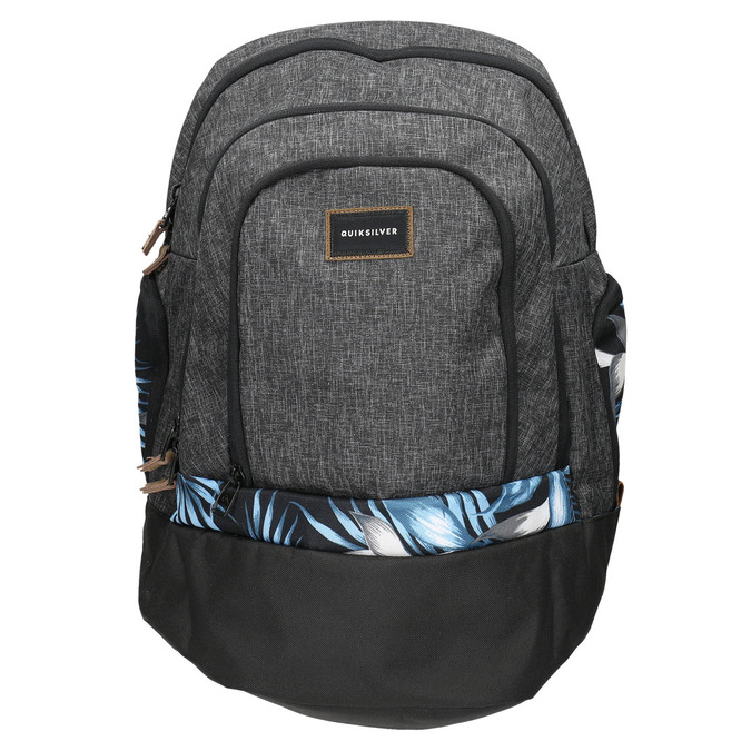 Grey backpack quiksilver, gray , 969-2035 - 19