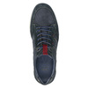 Casual brushed leather sneakers bata, blue , 846-9639 - 17