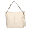 Handbag with tassels bata, beige , 961-8703 - 26