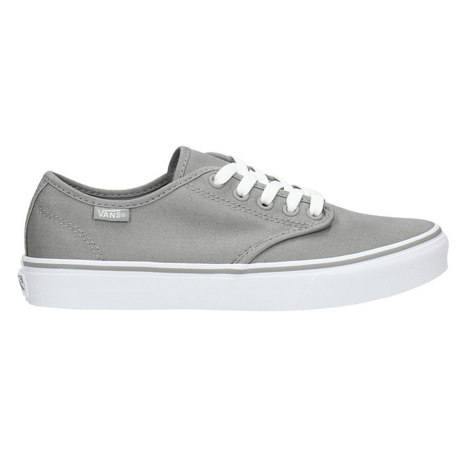 Ladies' grey sneakers vans, gray , 589-2211 - 15