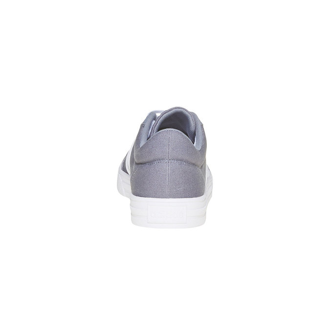 Men's grey sneakers adidas, gray , 889-2235 - 17