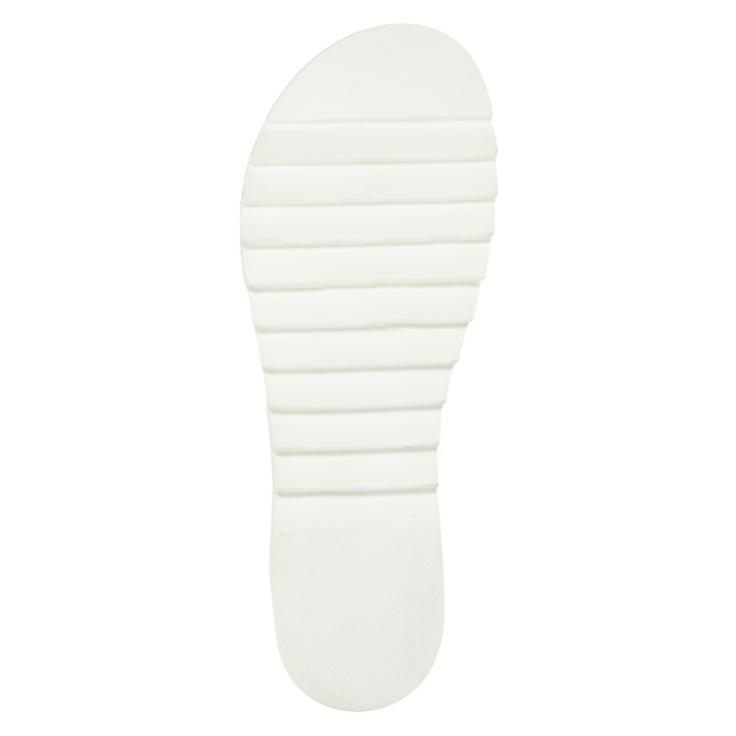 Leather sandals with a white sole weinbrenner, brown , 566-4629 - 26
