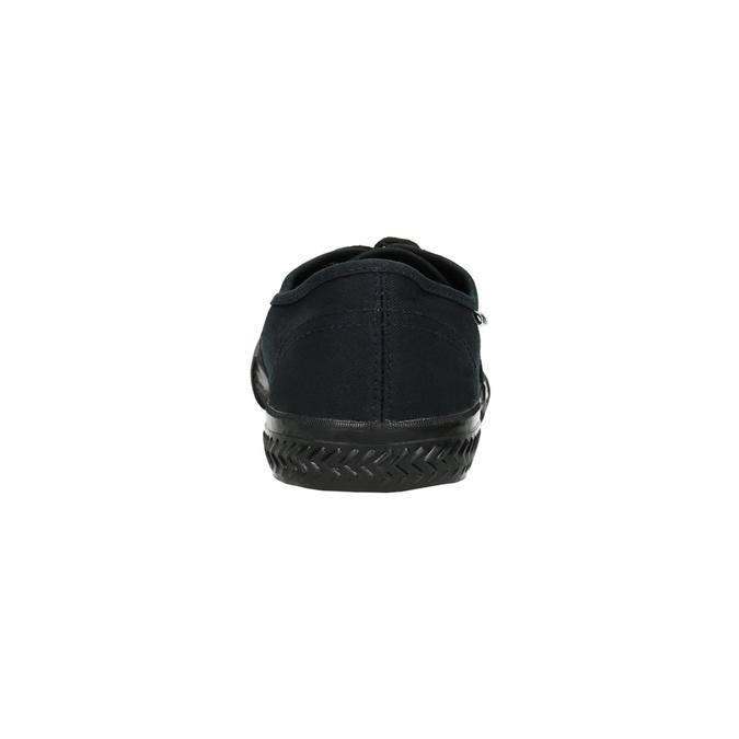 Men's black sneakers tomy-takkies, black , 889-6227 - 17