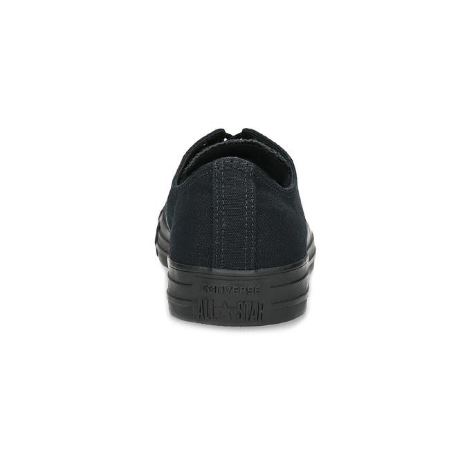 Men's black sneakers converse, black , 889-6279 - 15