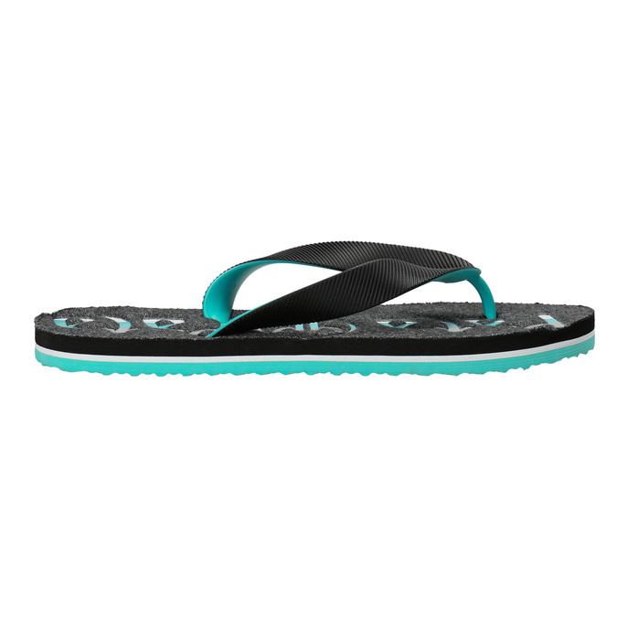 Men's flip-flops pata-pata, black , 872-6603 - 15