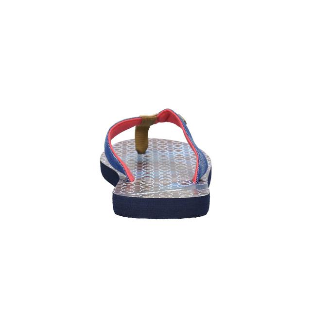 Ladies' flip-flops with denim straps north-star, blue , 579-9617 - 17