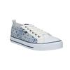 Ladies' patterned sneakers north-star, blue , 589-1441 - 13