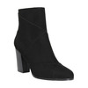 Ladies' ankle boots with stitching bata, black , 799-6615 - 13