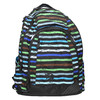 School backpack with stripes bagmaster, blue , 969-9651 - 26