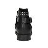 Ladies' studded high ankle boots bata, black , 596-6658 - 16