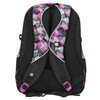 School backpack with print bagmaster, violet , 969-5656 - 19