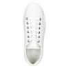White leather sneakers bata, white , 526-1641 - 26