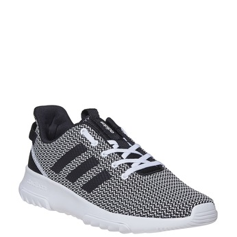 Sneakers in a sport design adidas, black , 809-6201 - 13