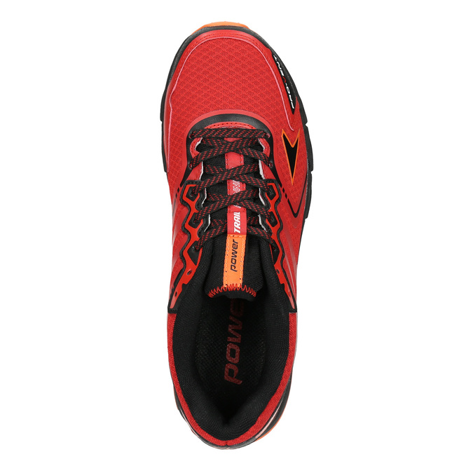 Men's athletic shoes power, red , 809-5223 - 15